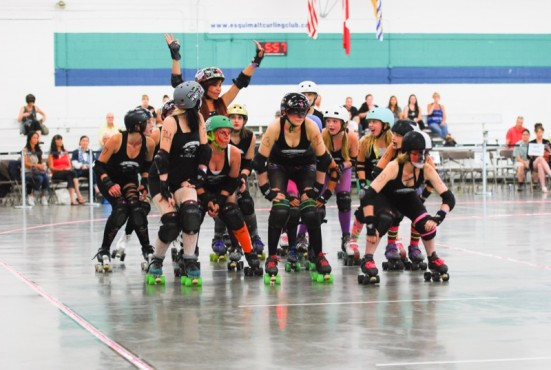 Roller Derby is just one sport worth checking out this year. Photo by Andrina Fawcett