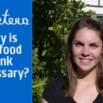 Why do you think the food bank is a necessity for UVic students?