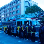 Mayor kicks off Fire Prevention Week outside City Hall