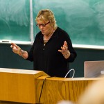 UVic Writing faculty reading brings students and professors together