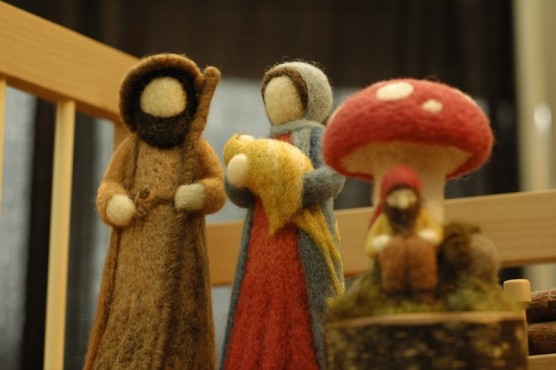 "Felted wool at ""Out of Hand"" Artisan Fair — Chorong Kim photo"