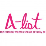 A-list: what the calendar months should actually be called