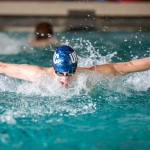 Vikes swim their way to four medals