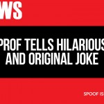 UVic prof tells hilarious and original joke—most students laugh, several predictably offended