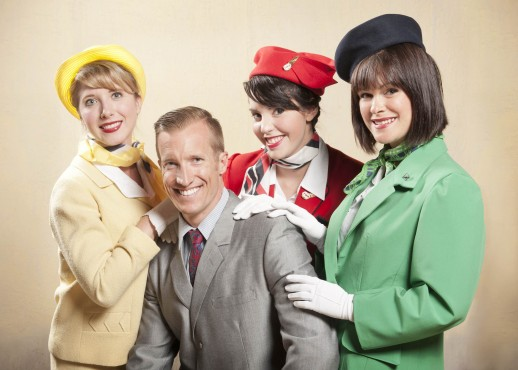From left: Hayley McCurdy as Gretchen, Tea Siskin as Gloria, Jeff Olyarnk as Bernard, and Keeley Teuber as Gabriella.