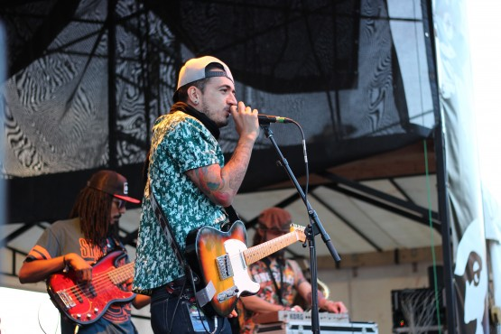 Providencia, a reggae band from Columbia, performs during Ska Fest 2014. —Blake Morneau (photo)