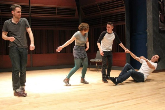 Vikes Improv performs at the University of Winnipeg. Photo provided by Vikes Improv.