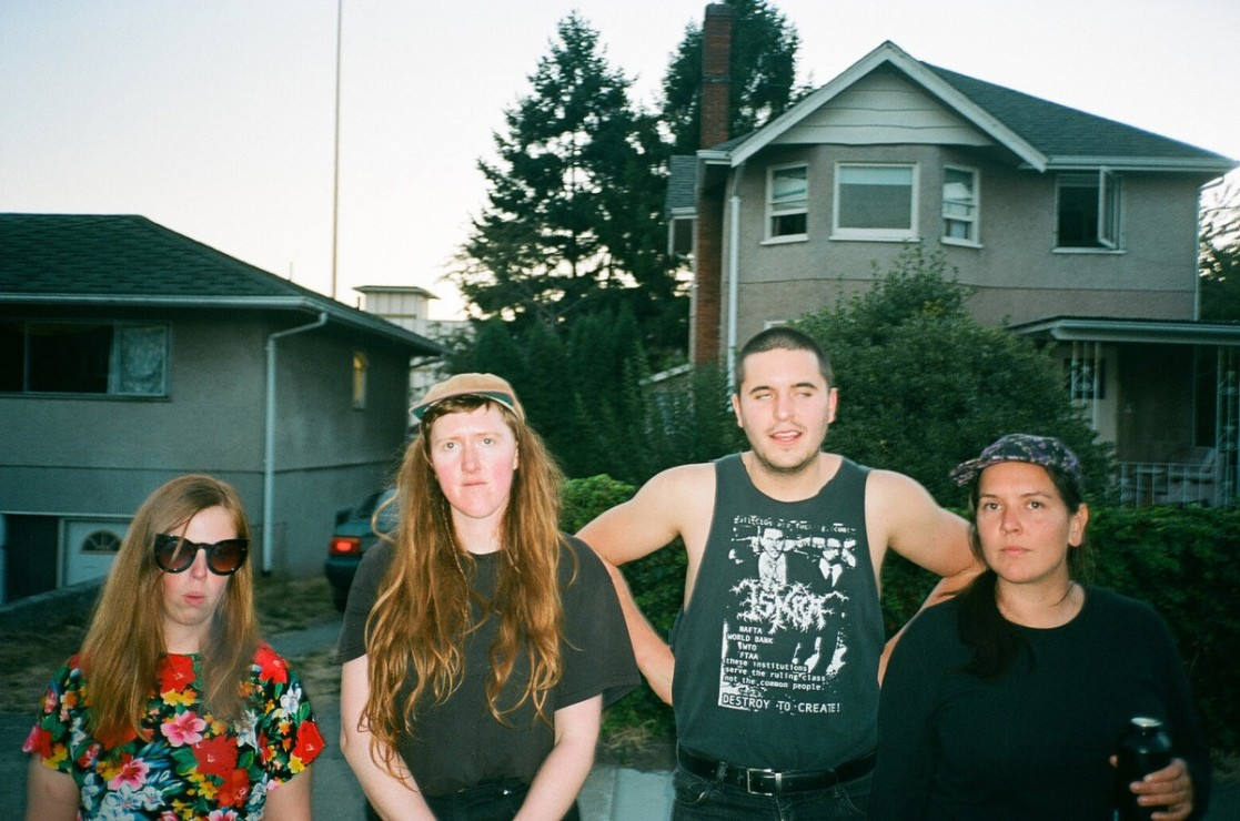 With the release of their self-titled EP, Collagen are marking their return to the Victoria punk scene. Photo credit: Collagen via Bandcamp