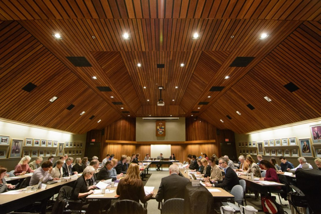 The results of the UVic Senate and Board of Governors results have now been released. File photo by Hugo Wong/The Martlet
