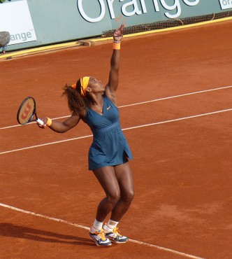 Serena Williams - Photo by Yann Caradec via Flickr