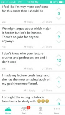 All this and more awaits when you dive into UVic's Yik Yak herd.