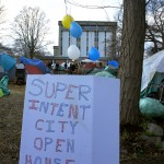 Tent city persistence meets local resistance