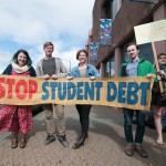 UVic students rally for needs-based grants