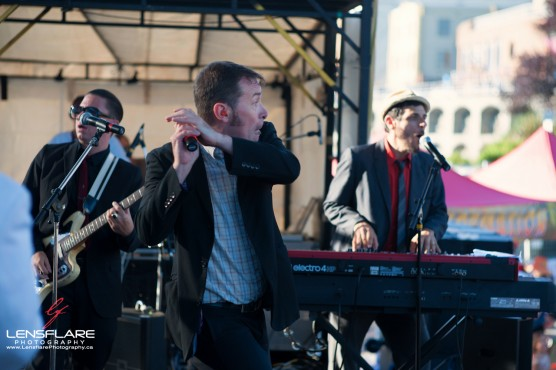 The Slackers played a set after supporting Keith & Tex. (Photo by Geoff Robson)