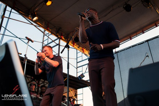 Hepcat played Ships Point on Saturday at Ska Fest. (Photo by Geoff Robinson)