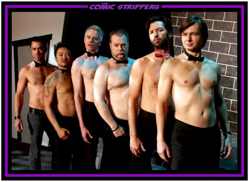 The Comic Strippers, an improv stripper group, brought their signature brand of entertainment to UVic on Nov. 14. Photo provided.