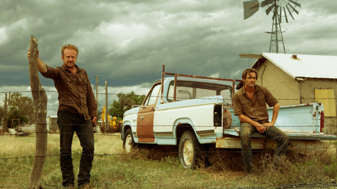 Ben Foster (left) and Chris Pine star in 'Hell or High Water,' a slow burn of a Western you shouldn't miss. Credit CBS Films