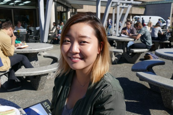 Grace Shin, first-year biochemistry student