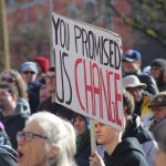 'Broken promises' draw demonstrators for electoral reform rally