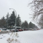 No concrete answers after UVic's snowmageddon causes pileup