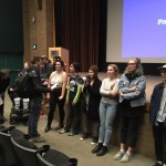 Protesters crash effective altruism debate