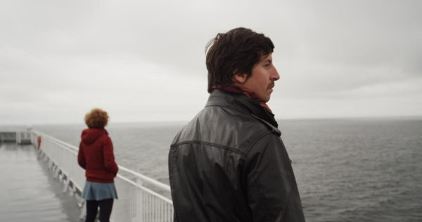 Director Nicola Moruzzi looks out at the Pacific Ocean. Photo by Leonardo Baraldi.