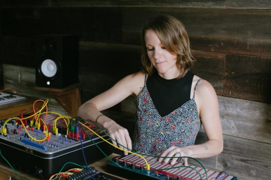 Synth artist Kaitlyn Aurelia Smith performs the second night of Pretty Good Not Bad 2016, which is returning for its second year on May 18–21. Photo provided by Pretty Good Society