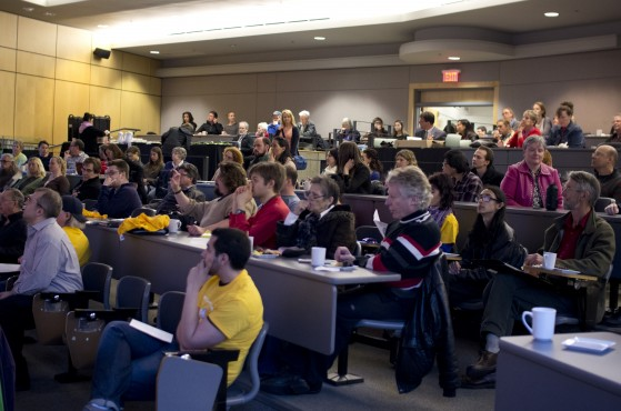 A photo from the 2013 Autism's Own conference. Photo by Patrick Dwyer