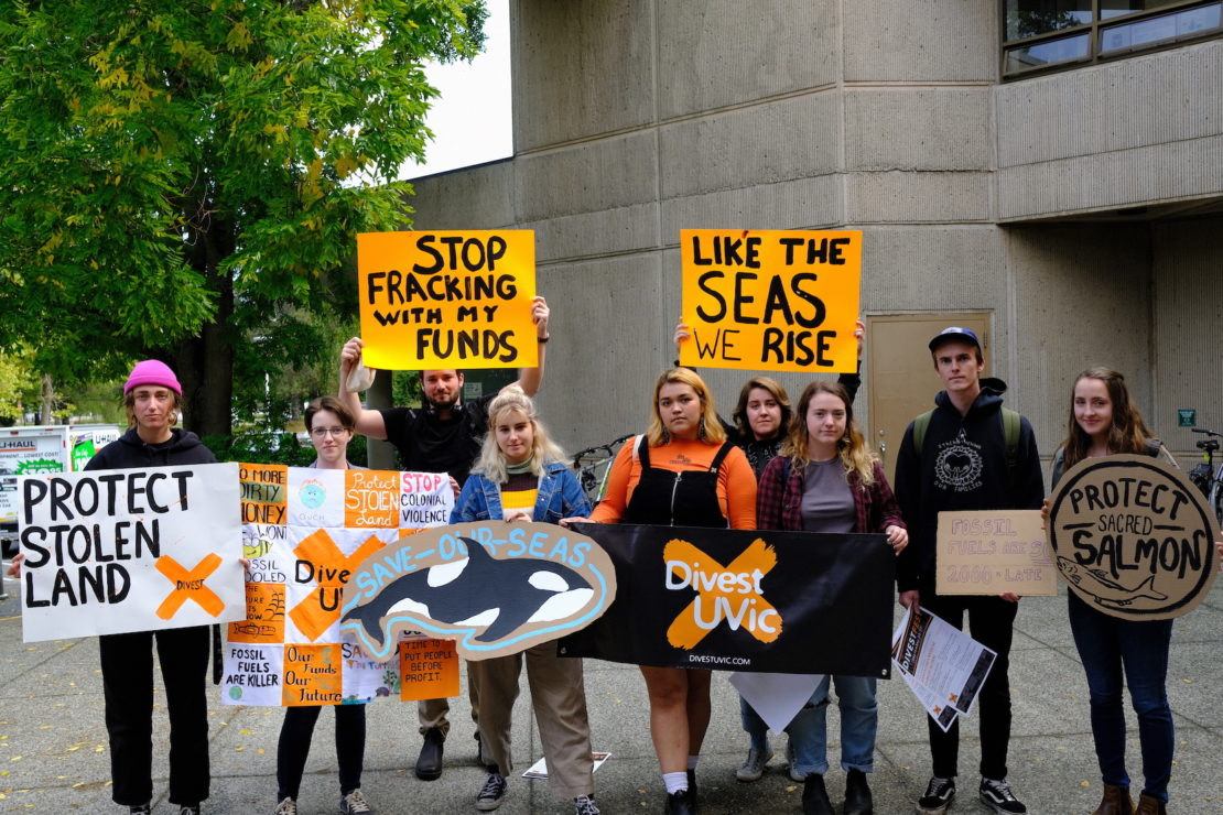 divest uvic in 2019